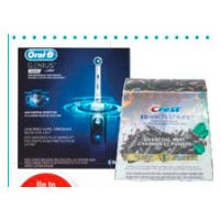 Oral-B Power Toothbrush, Crest 3d Charcoal Mint or With Light Whitestrips