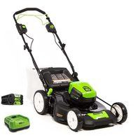 Greenworks Pro 3-in-1 Self-Propelled Rear Wheel Drive Lawnmower
