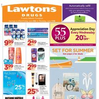 Lawtons Drugs - Weekly - Week Long Savings Flyer