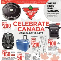 Canadian Tire - Weekly - Celebrate Canada Flyer