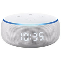 Amazon Echo Dot (3rd Gen) With Alexa & Clock