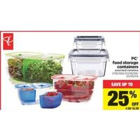 PC Food Strorage Containers