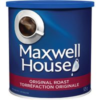 Maxwell House Roast and Ground Coffee