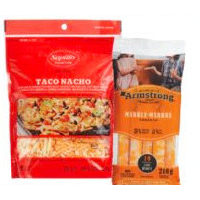 Black Diamond Cheestrings, Saputo Shredded Cheese or Armstrong Cheese Snacks