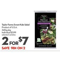 Taylor Farms Sweet Kale Salad