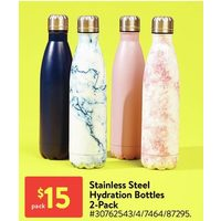 Stainless Steel Hydration Bottles