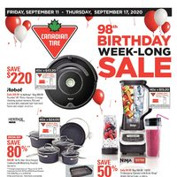 - 98th Birthday Week-Long Sale Flyer