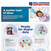 Real Canadian Superstore - A Mother Load of Ideas Flyer
