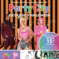 - Escouade d'Halloween Flyer