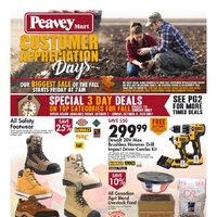 PeaveyMart - Customer Appreciation Days Flyer
