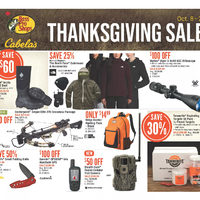 Bass Pro Shops - Thanksgiving Sale Flyer