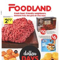 Foodland - Weekly Specials - Dollar Days Flyer