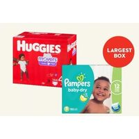 Pampers Econo+ or Huggies Econo Diapers
