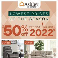 Ashley HomeStore - Lowest Prices of The Season Flyer
