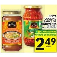 Divya Cooking Sauce or Condiments