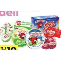 Mini Babybel, the Laughing Cow, Cheese Dippers or Boursin Portions