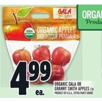Organic Gala Or Granny Smith Apples