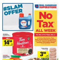 Real Canadian Superstore - Weekly - No Tax All Week Flyer