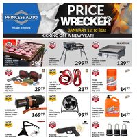 Princess Auto - Price Wrecker Flyer