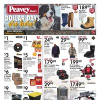 PeaveyMart - Weekly Deals - Dollar Days Are Here Flyer