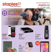 Staples - Weekly Deals - Gifts For Mom Flyer