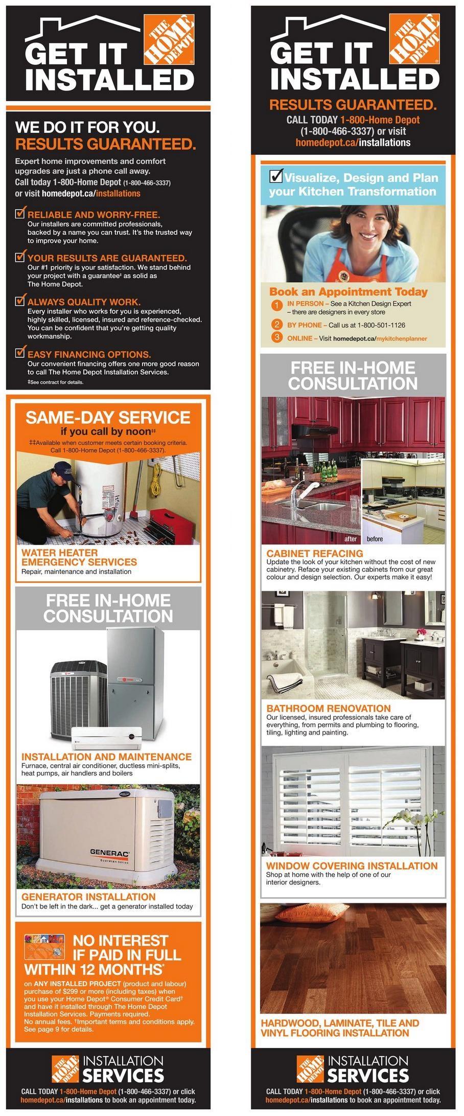 Bathroom Renovation Cost Redflagdeals home depot weekly flyer - weekly flyer - bath event - feb 6 – 12