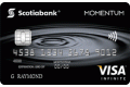 Scotia Momentum® VISA* Infinite card