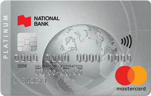 National Bank of Canada MasterCard® Platinum Credit Card