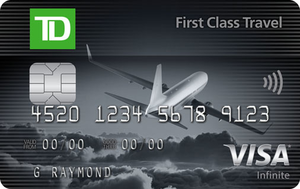 TD® First Class Travel Visa Infinite* Card