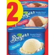 Breyers Classic or Popsicles/Novelties - $2.00