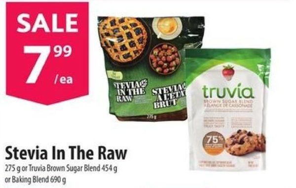 Stevia In The Raw Or Truvia Brown Sugar