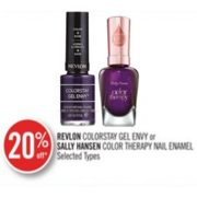 20% Off Sally Hansen Color Therapy Nail Enamel