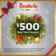 $500.00 Coupon For Extra Discount On All New Vehicles