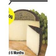 Aged 6 Months Manchego Cheese - $18.99/lb