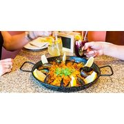 $55.00 for Dinner for 2 + Paella, Sangria, and Dessert + $15.00 Gift Card