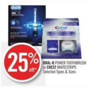 25% Off Oral-B Power Toothbrush