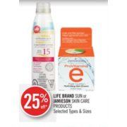 25% Off Jamieson Skin Care Products
