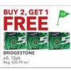 Bridgestone - Buy 2 Get 1 Free