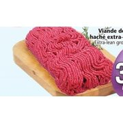 Extra-Lean Ground Beef  - $3.99/lb
