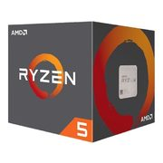 AMD Ryzen 5 2600 6-Core 3.4 GHz (3.9GHz Max Boost) Socket AM4 65W YD2600BBAFBOX Destop Processor - $229.99 ($40.00 off)