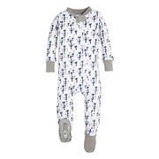 Burt's Bees Baby® Breezy Palm Footie In White - $16.99 ($5.00 Off)