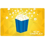 Cineplex: Get a FREE Regular Popcorn + 250 SCENE Points When You Buy a $30.00 E-Gift Card