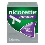 Nicorette 2 Mg Gum, Inhaler, Quick Mist, Thrice 2 Mg Gum Or 1 Mg Lozenge  - $29.99
