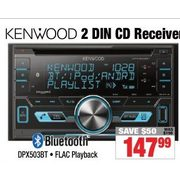 Kenwood 2 Din CD Receiver - $147.99 ($50.00 off)
