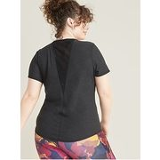 Breathe On Plus-size Mesh-back Performance Tee - $11.97 ($13.02 Off)