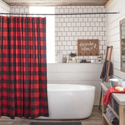 Buffalo Plaid Shower Curtain - $27.99 ($12.00 Off)