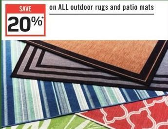 Rona All Outdoor Rugs And Patio Mats