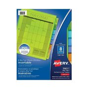 Avery Insertable Dividers - 8 -Tab - $2.79 ($0.70 off)