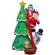 7' Inflatable Santa And Friends  - $139.00 ($20.00 off)